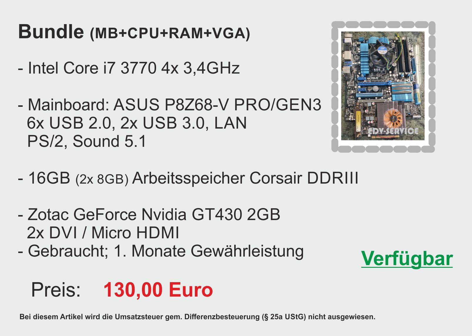 Mainboard Intel ASUS